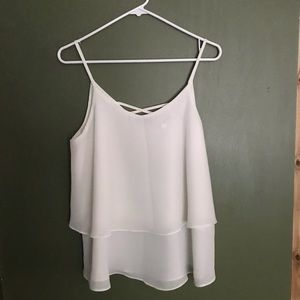 Layered tank top from Francesca's